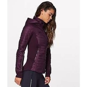 Lululemon First Mile Jacket Darkest Magenta 4